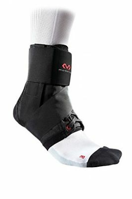 McDavid 195 Deluxe Ankle Brace with Strap (Black, Medium)