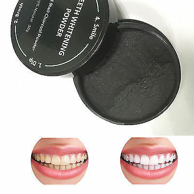 30g Whitening Powder Organic Coconut Shell Activated Charcoal Natural Teeth Toot
