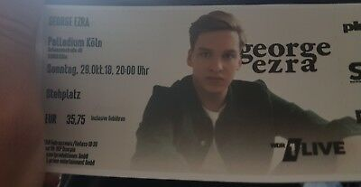 Konzert Ticket Georg Ezra Köln 28.10.18
