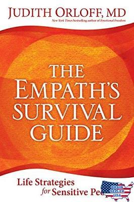 The Empath's Survival Guide: Life Strategies for Sensitive People, New,Free Ship