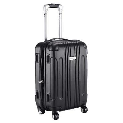 Goplus Carry On Luggage 20-inch ABS Expandable Hardside Travel Bag Trolley