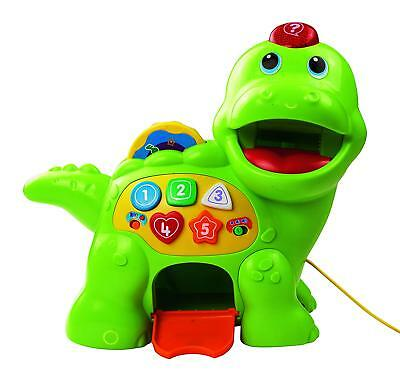Vtech Baby Feed Me Dino Educational Early Learning Activity Toy Music Shapes