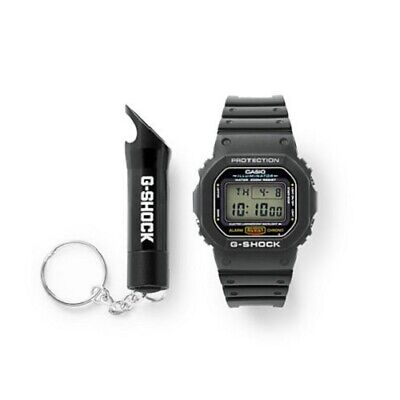 Casio G-Shock Men's Quartz Illuminator Black Resin Band 43mm Watch DW5600E-1F