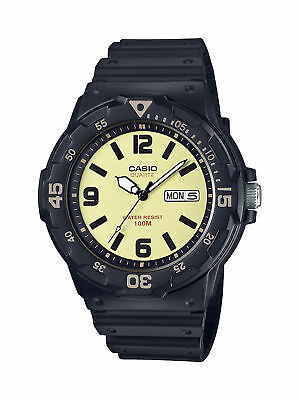 Casio Men's Quartz Day And Date Black Resin Band 48Mm Watch Mrw200h-5Bvcf