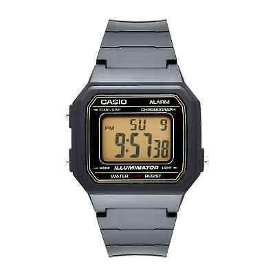 Casio Men's Quartz Illuminator 7-Year Battery Black Resin 43Mm Watch W217h-9Av