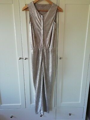 Next Girls Silver Jumpsuit, 12yrs
