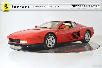 1989 Ferrari Testarossa  1989 Used Certified Manual RWD