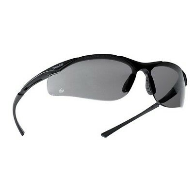 Bolle Safety CONTPSF Contour Safety Glasses - Smoke