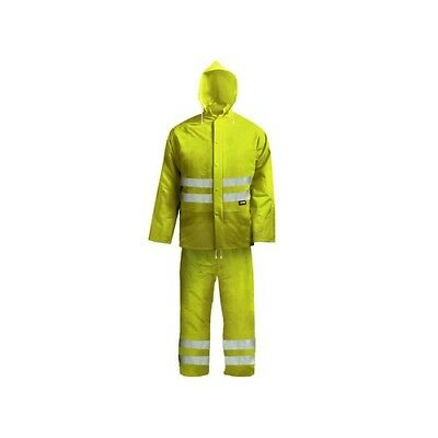Scan BX230-XXL Hi-Visibility Rain Suit Yellow 45-49in - XXL