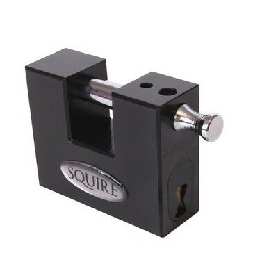 Squire WS75S Stronghold Container Block Lock 80mm
