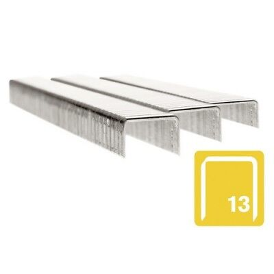Rapid 11830726 13/6 6mm Stainless Steel 5m Staples Box of 2500
