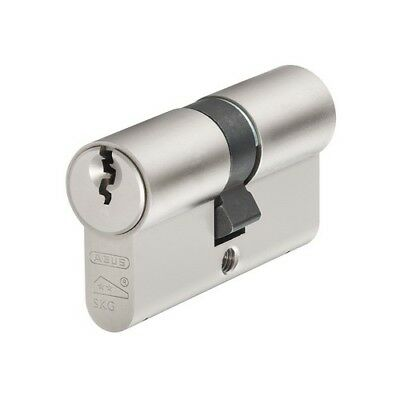 ABUS E60N3550 E60NP Euro Double Cylinder Nickel Pearl 35mm / 50mm