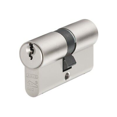 ABUS E60N5050 E60NP Euro Double Cylinder Nickel Pearl 50mm / 50mm