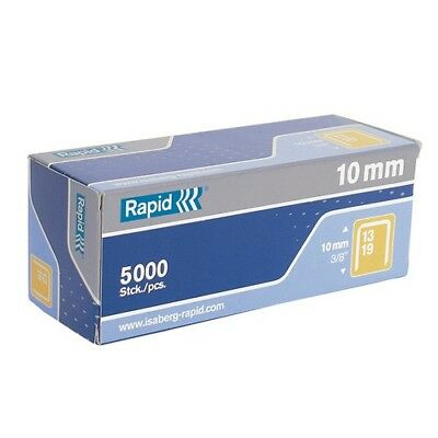 Rapid 11840600 13/10 10mm Galvanised 5m Staples Box of 5000