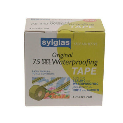 Sylglas SYL50 Original Waterproofing Tape 50mm x 4m