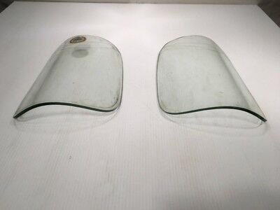 Chevrolet chevy pickup truck 1946-1955 window glass curved rear original set