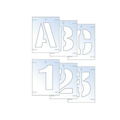 Scan 9406 Letter & Number Stencil Kit 100mm
