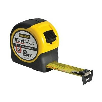Stanley FMHT0-33868 Blade Armor Magnetic Tape Measure 8 Metre Metric Only