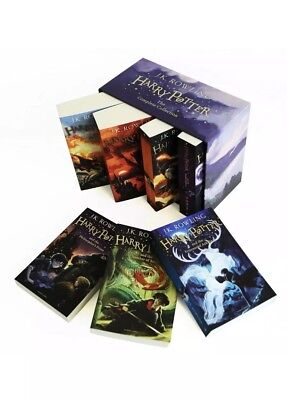 Harry Potter 7 Book Box Set: Complete Collection by J. K. Rowling