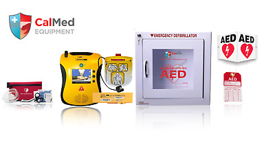 Defibtech Lifeline AED View Business Package acc. & 2 Yr Warranty