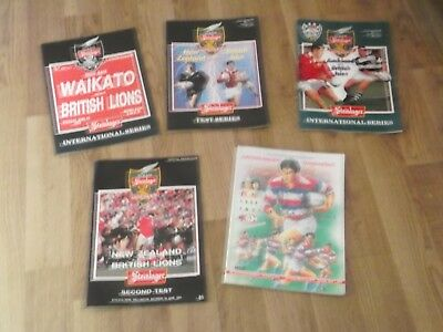 Rugby Lions Tour Official  Programmes 1993