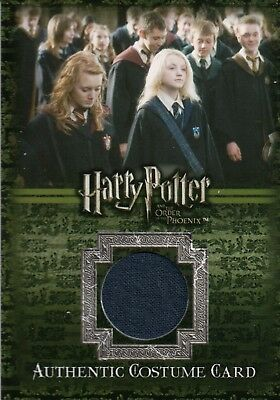 Harry Potter & The Order of The Phoenix, Costume Card C14 #163/520