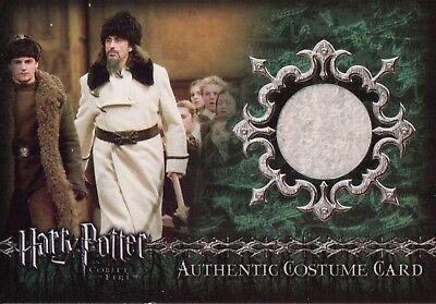Harry Potter & The Goblet Of Fire, Authentic Costume Card C9 #075/850