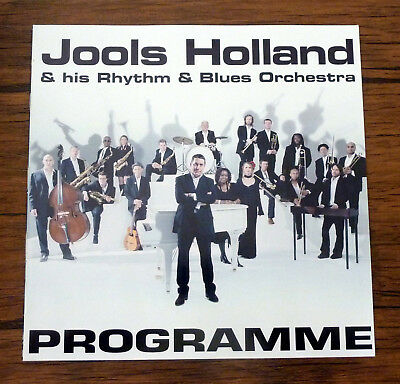 Jools Holland Official Tour Programme 20 Pages