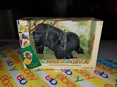 Ertl Collectibles Gorilla Wilds Of Africa MiB 1997 - animal action figure