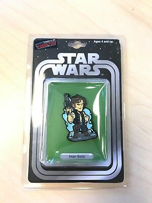 Star Wars Han Solo Figure Enamel Metal Pin 2017 NY Comic Con