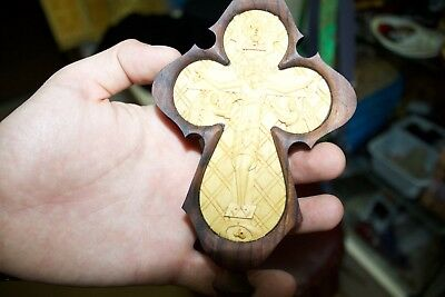 Christian orthodox Hand Blessing Wood Cross