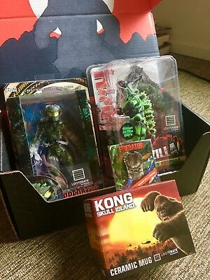 Loot Crate DX Primal with RARE Godzilla figure