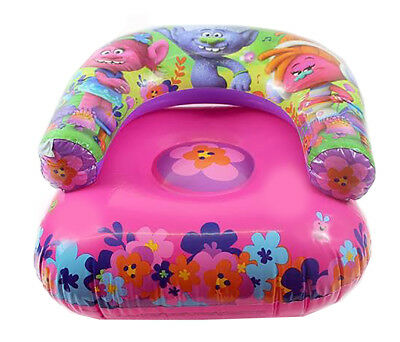 Trolls Swimming Chair,Beach Garden Camping,Inflatable Chair Official Licensed