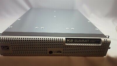 Grass Valley Summit K2 Server K2-XDP-4HD-MPG no OS with 2 cards  771-0359-00