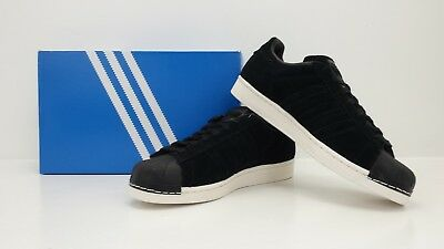 Adidas Originals Superstar Core BlackCore Black Suede BZ0201 - BRAND NEW IN BOX