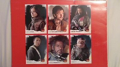 35 Star Wars Rogue One Cards