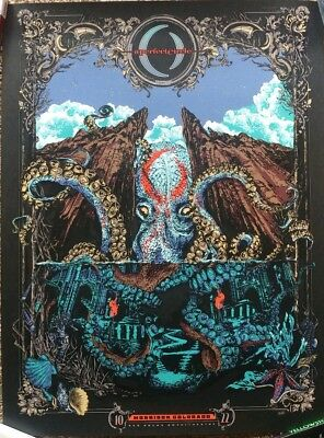 A Perfect Circle Red Rocks Event Poster 2018