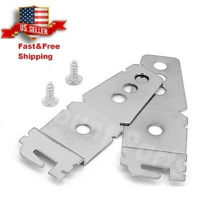 2 x Whirlpool Kenmore KitchenAid WP8269145 Dishwasher Mounting Bracket 8269145
