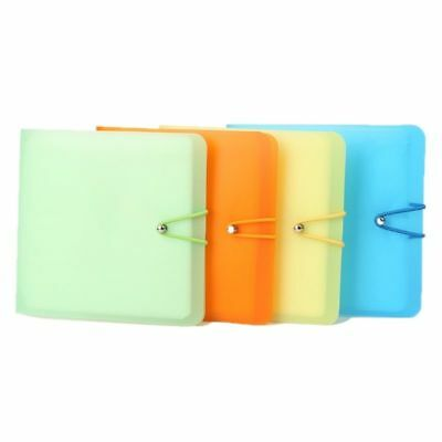 12 Sleeves Disc Carry CD DVD Wallet Case Holder Storage Cover Bag Protections