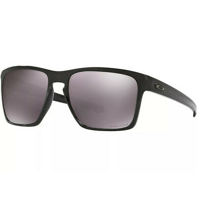 fa9689a0f4a OAKLEY TRIGGERMAN OO9266-06 Black Frame Grey Prizm Daily Polarized ...