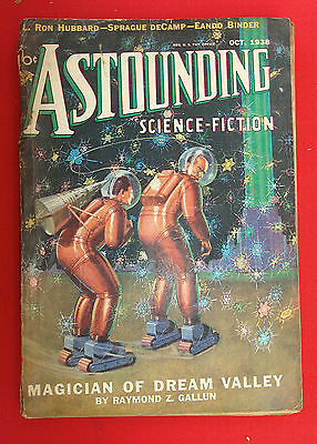 PULP Magazine SCIENCE FICTION ASTOUNDING 1938 OCT. Vol. XXII N° 2