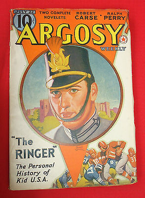 PULP Magazine SCIENCE FICTION ARGOSY Weekly 1939 JULY 22 Vol. 292 N° 1