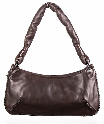 BOTTEGA VENETA Dark Brown Calfskin Shoulder Bag - Italy - eBay Authenticate 721ec5374e385