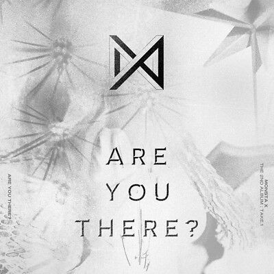 MONSTA X [TAKE.1 ARE YOU THERE?] 2nd Album RANDOM VER. CD+Booklet+2 P.Card K-POP