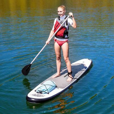 2 Person Stand Up Paddle Board Inflatable Paddleboard Outdoor Sports White Grey