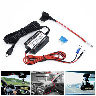 Kit Car Fuse Dash Cam Phone Cable For Nextbase 3.2m Hard Wire GPS Navigation