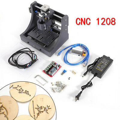 USB 3 Axis 1208 CNC Router Mini Mill PCB Milling Carving Engraving Machine DIY