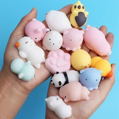 Mochi Squishy Toys Kawaii Squishys 10 20 Pcs Mini Squishies Mochi CUTE Animal
