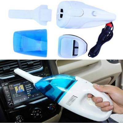 Car Vehicle Handheld Portable Powered 65W DC 12V Wet Dry Cleaning Vacuum Cleaner
