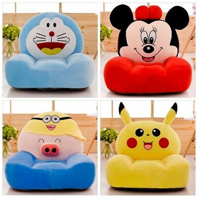 Kids Sofa Chair Seat Soft Toddler Armchair Nursery Animal Plush Stuffed New